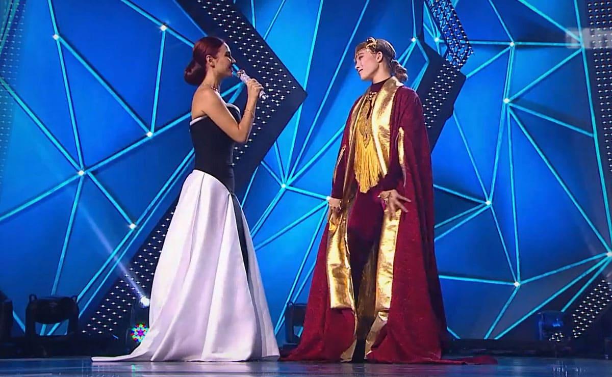 Саша Киселёва и Ляйсан Утяшева Танцы на ТНТ