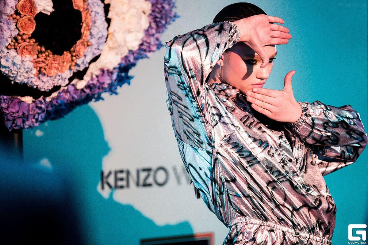 Sasha Kiseleva Kenzo