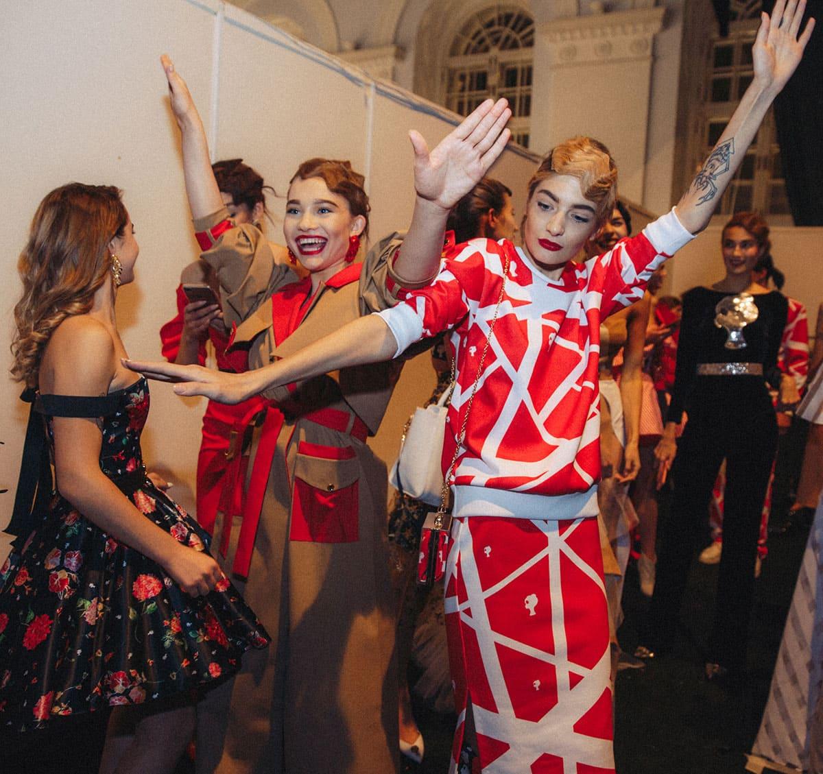 Aleksandra Kiseleva Fashion Week