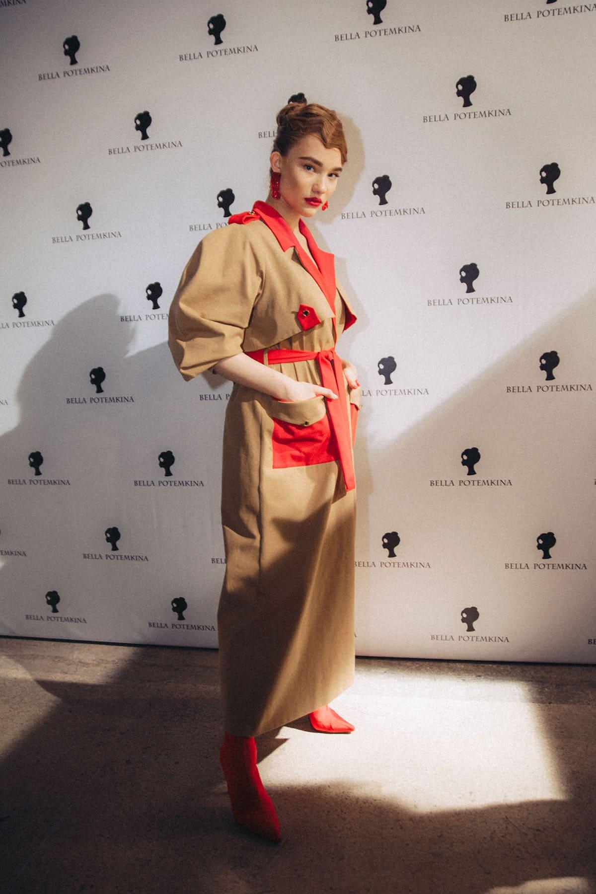 Aleksandra Kiseleva - Mercedes-Benz Fashion Week Russia