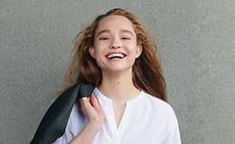 Aleksandra Kiseleva – smile