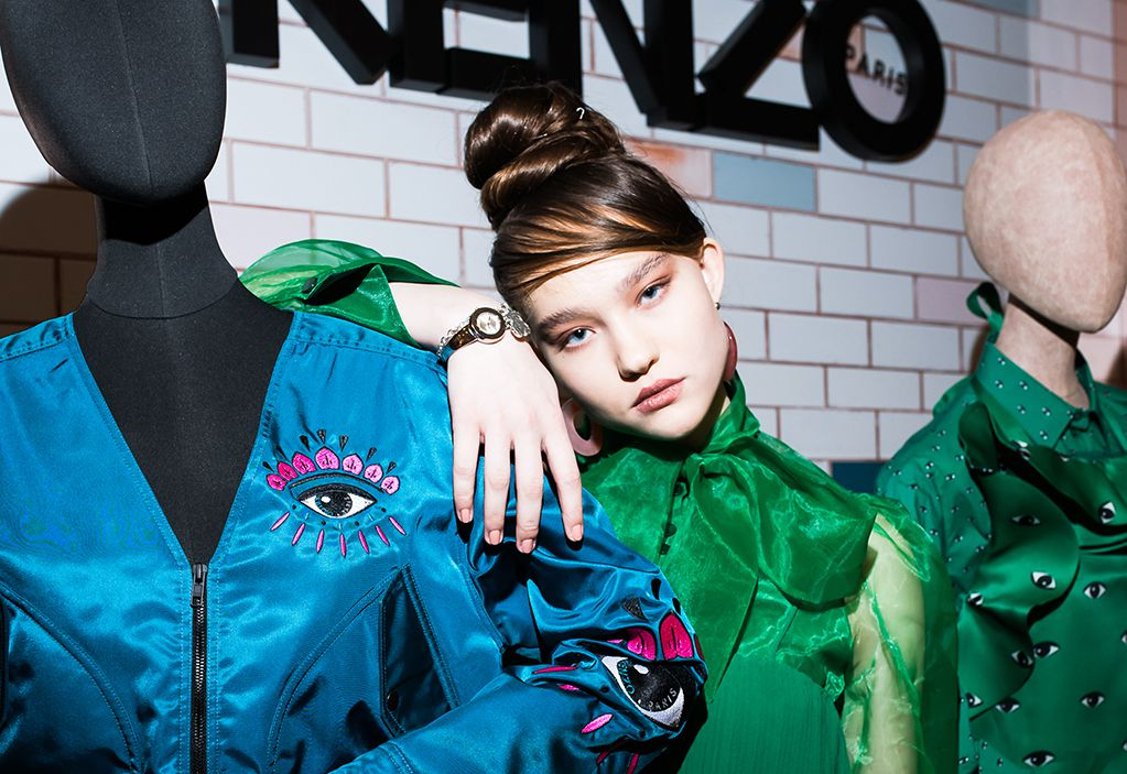 Александра Киселева | Kenzo Parfums