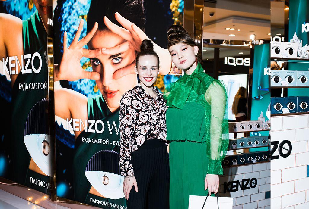 Александра Киселева и Ева Полянская | Kenzo